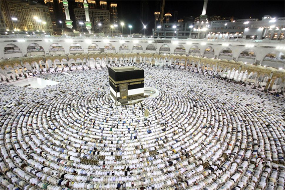 Who are you visiting Makka and Madina