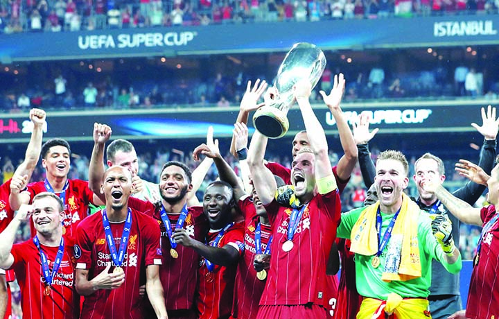 Liverpool beat Chelsea on penalties to lift Super Cup
