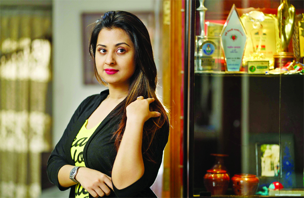 Bubly impresses all to play the role of Arpita