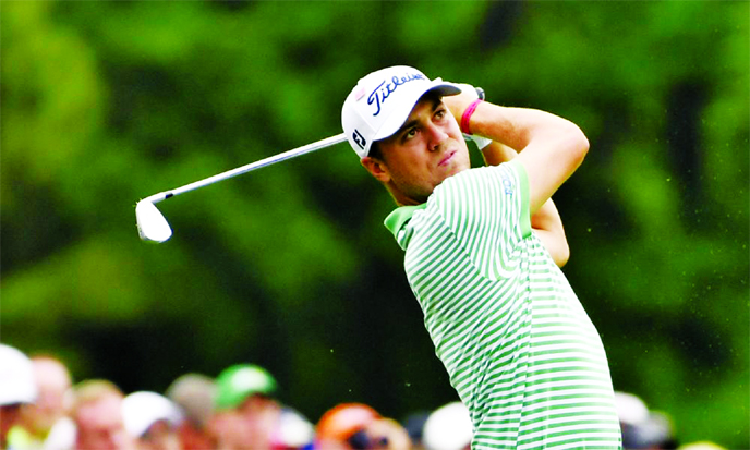 Thomas turns it around and shares lead at Medinah
