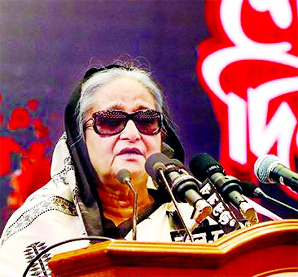 Repay Bangabandhu's blood debt fulfilling his dream: PM