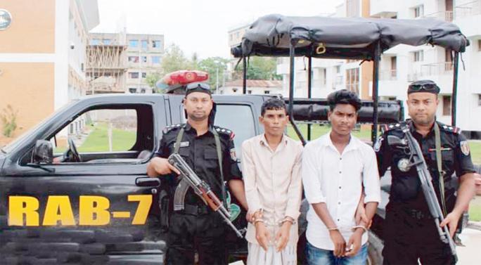 46000 pieces Yaba recovered, 3 held at Anowara