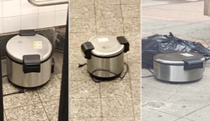 Empty rice cookers create bomb scare in New York