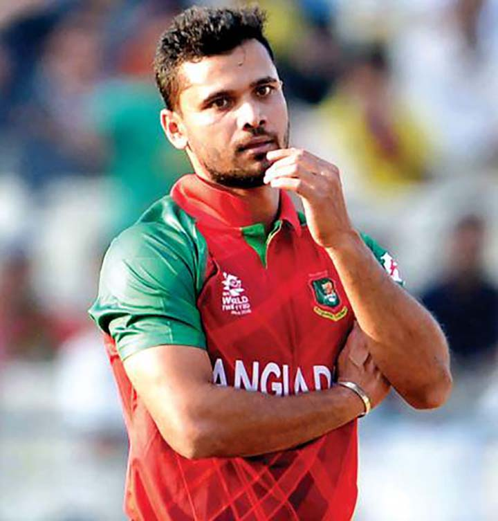 Mashrafe seeks two months to ponder about his retirement