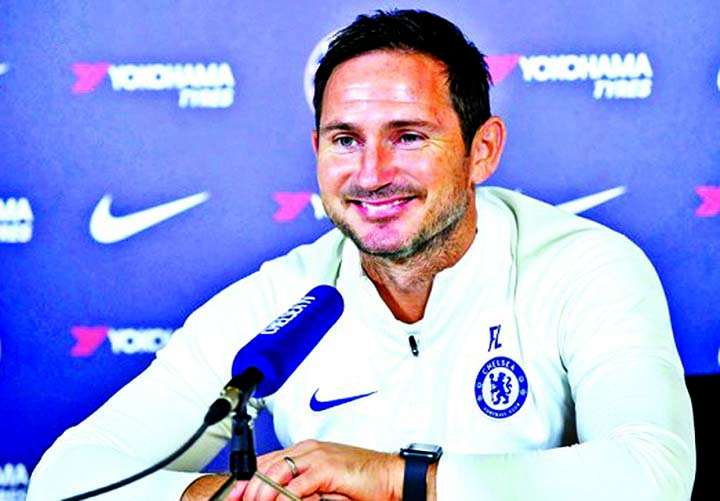'Proud' Lampard eyes first Chelsea win in home debut