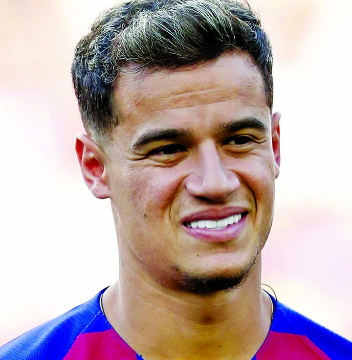 Bayern Munich target Coutinho arrives for medical ahead of loan move