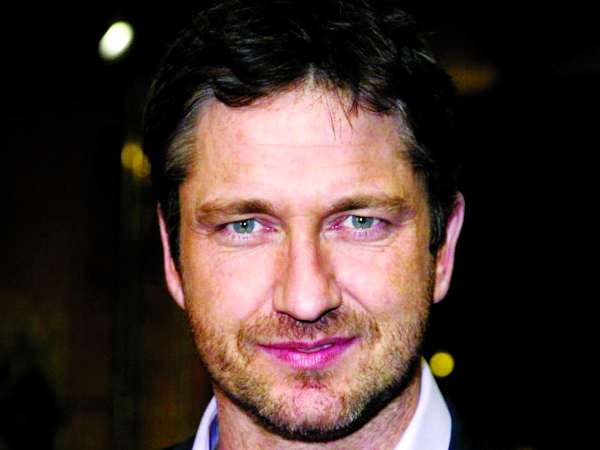 Gerard Butler in awe of Morgan Freeman