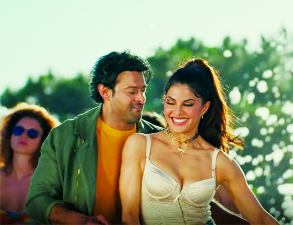 Jacqueline, Prabhas are raising the mercury with their moves in Bad Boy