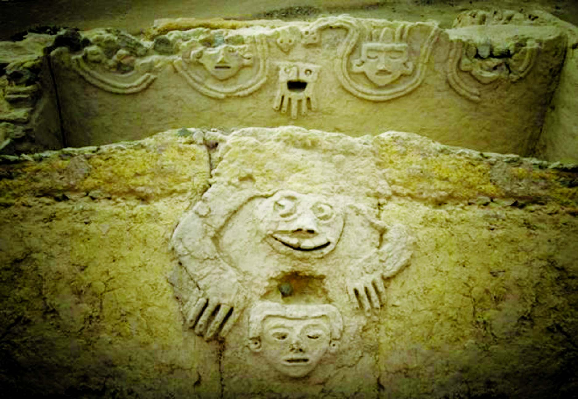 3,800 yr-old mural unveiled in Peru