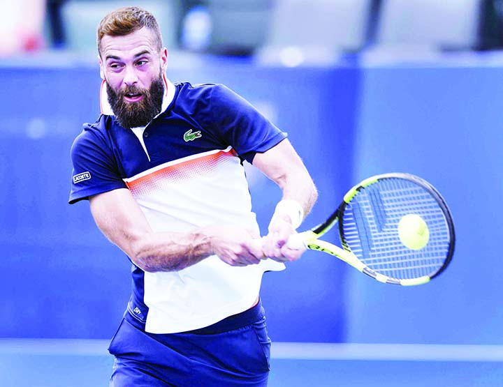 Top seeds Paire, Shapovalov reach Winston-Salem 3rd round