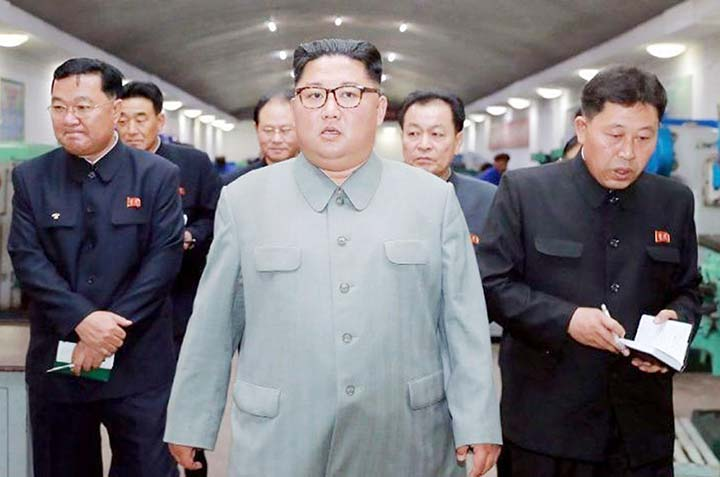 N Korea dismisses nuclear talks if US 'hostile military moves' continue