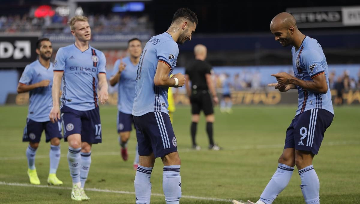 Castellanos scores 10th goal, NYCFC top Crew 1-0