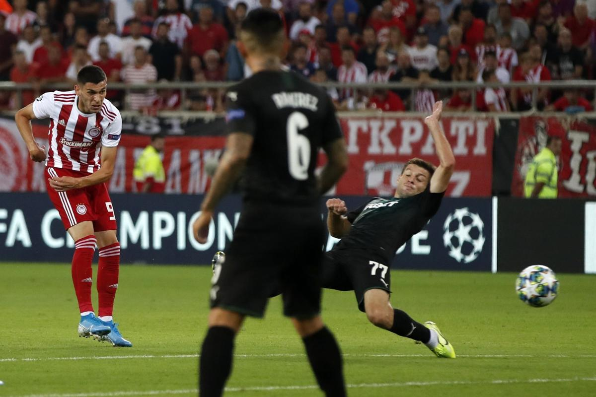 Olympiakos, Dinamo Zagreb win Champs League playoff 1st legs
