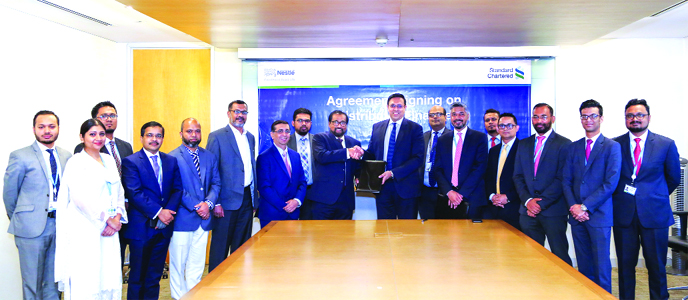 StanChart, Nestlé (BD) inked deal for distributor finance program