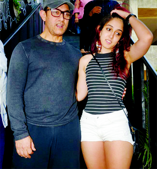 Aamir's daughter Ira is all set to make her directorial debut