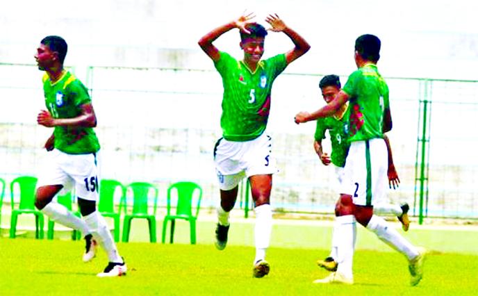 Bangladesh beat Bhutan 5-2