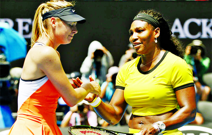 Serena, Sharapova to meet at US Open