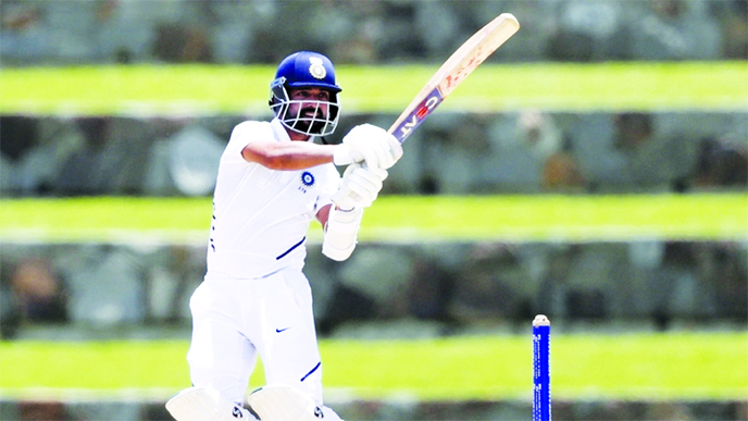 Rahane half-century anchors India revival in first Test