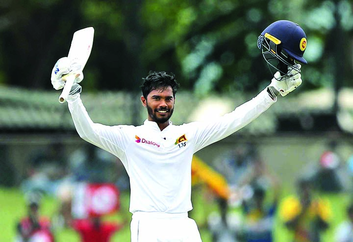 De Silva ton lifts Sri Lanka to 244 against New Zealand