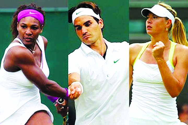 Serena-Sharapova and Federer play Monday night at US Open