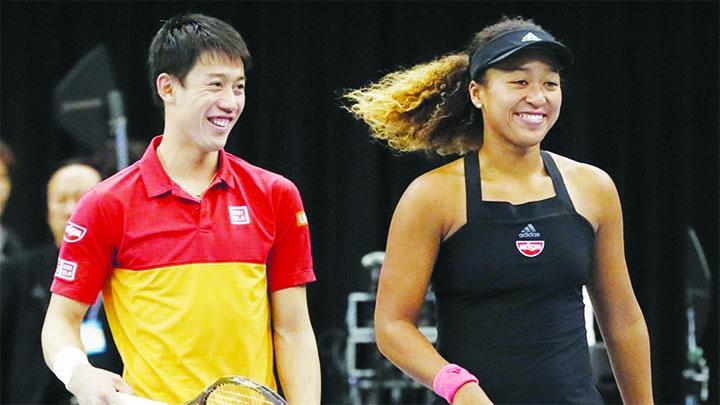 Nishikori ponders mixed doubles with Osaka at Tokyo Olympics