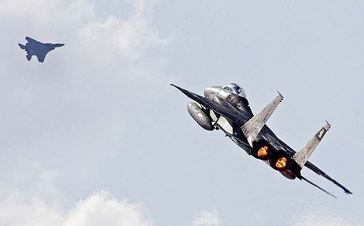Israeli jets hit targets in Syria to prevent Iranian drone attack: Army