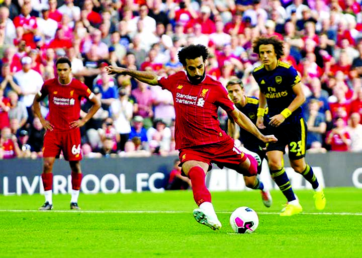 Liverpool outclass Arsenal in 3-1 win, Salah scores 2