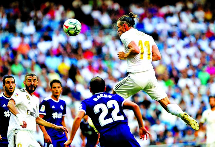 Bale and James start but Madrid held by Valladolid