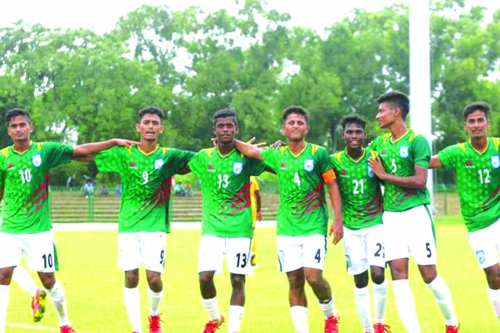 Bangladesh thrash Lanka 7-1
