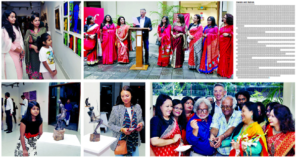Group Art Exhibition Colours at Alliance Francaise de Dhaka