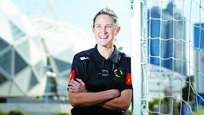 Australia's A-League appoints first female referee