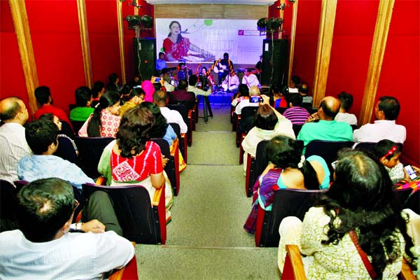 Musical soiree on Tagore songs at Alliance Francaise de Dhaka