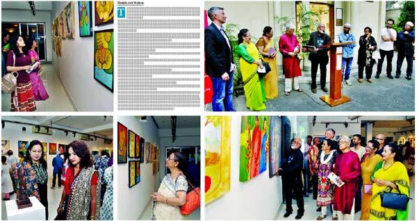 Symphony: Group Art Exhibition of Bangladesh, India's artists
