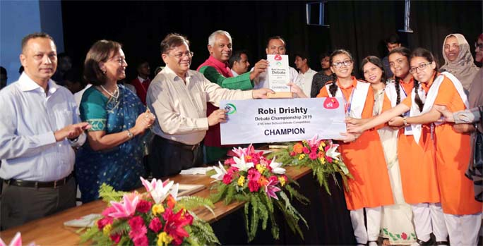 Robi-Drishty Debate Competition concludes