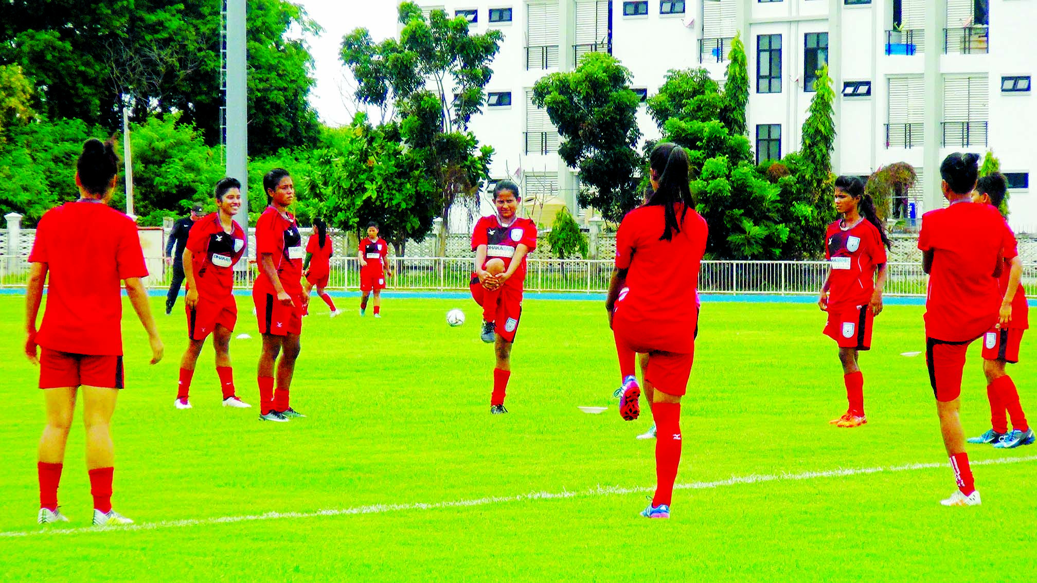 Bangladesh Women well prepared ahead of AFC U-16 Women's Champs