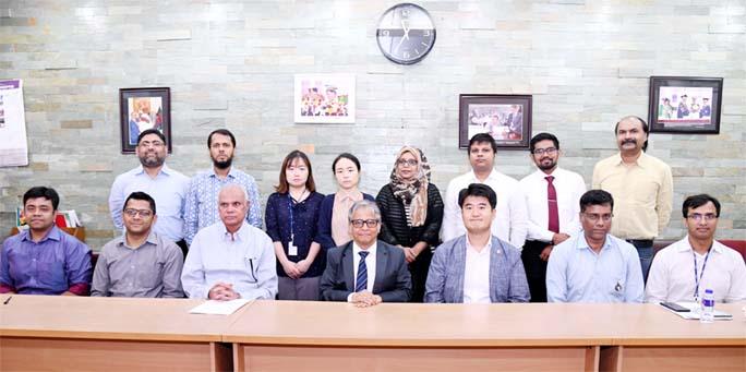 KOICA delegation meets DU VC