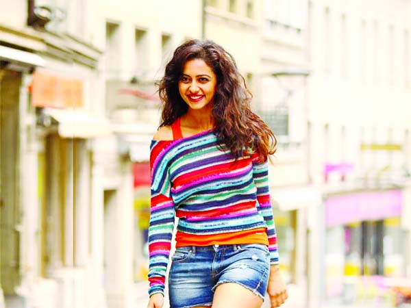 Rakul Preet carries forward her passion for sports