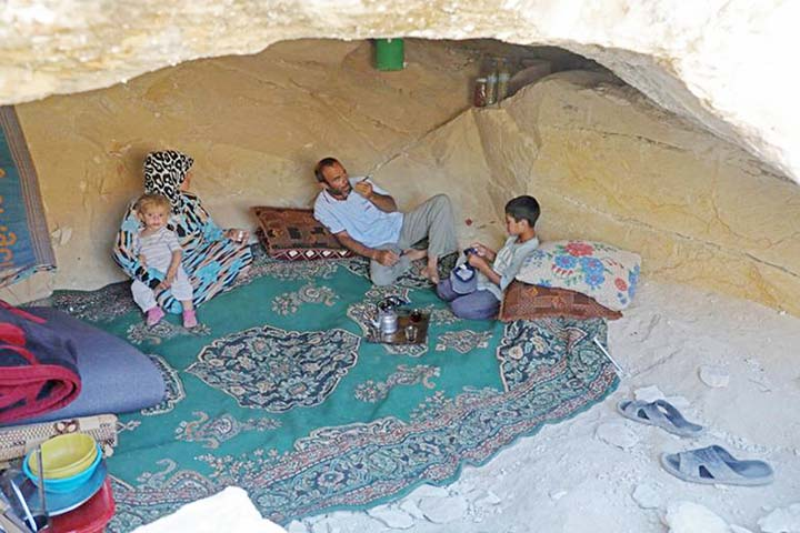Idlib chaos forces displaced Syrians into strange dwellings