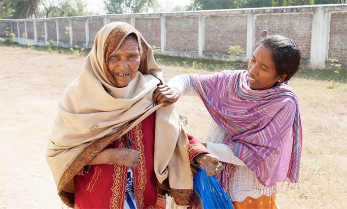 Female Leprosy Victims