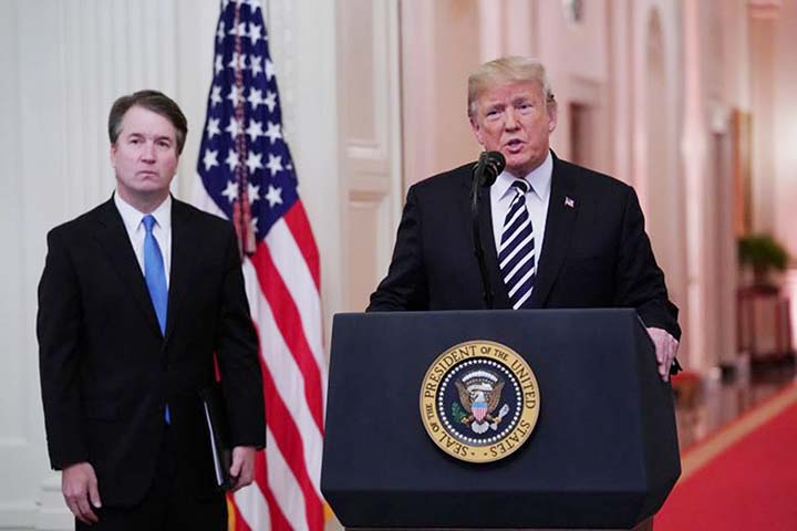 Trump rages as NY Times clarifies its Kavanaugh story