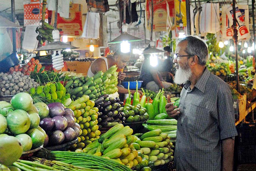 Vegetables' price up in Chattogram markets