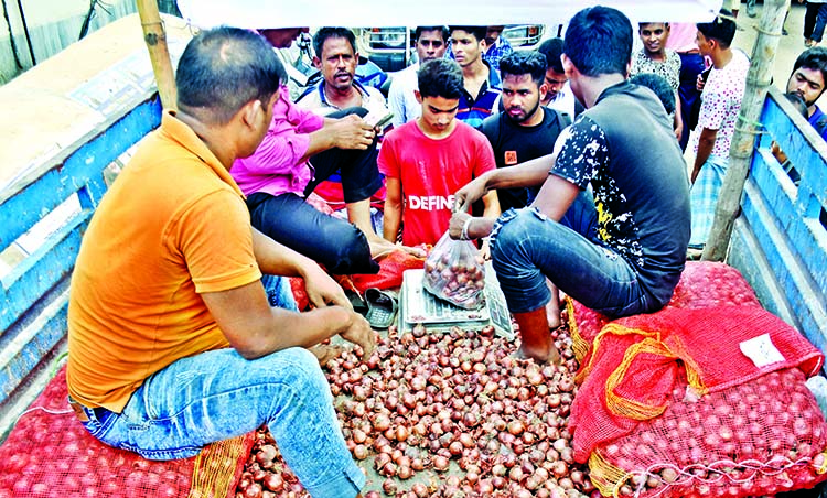 Onion market turns hot