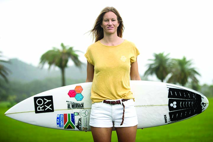 Surfer rides emotional roller to Olympics