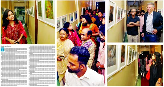 Group painting exhibition Adherence at AFD