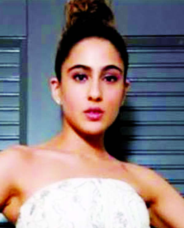 Sara Ali Khan is a vision in  white in this photograph