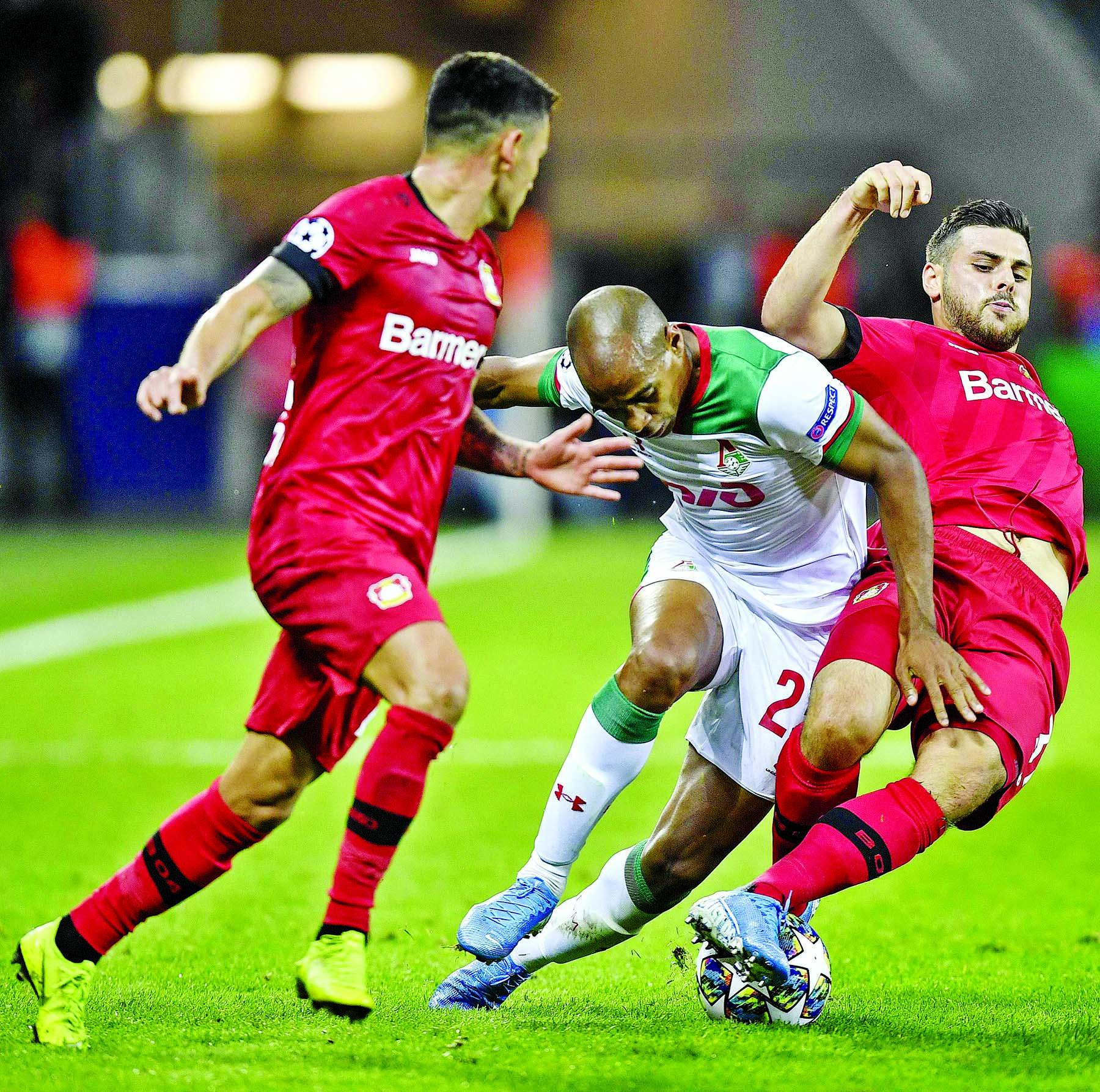 Lokomotiv beat Leverkusen thanks to goalkeeper's error
