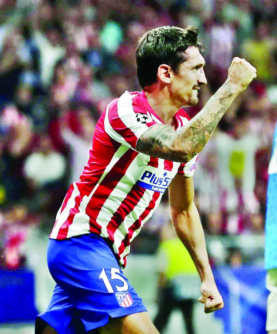 Herrera snatches late point for Atletico with debut Juve strike