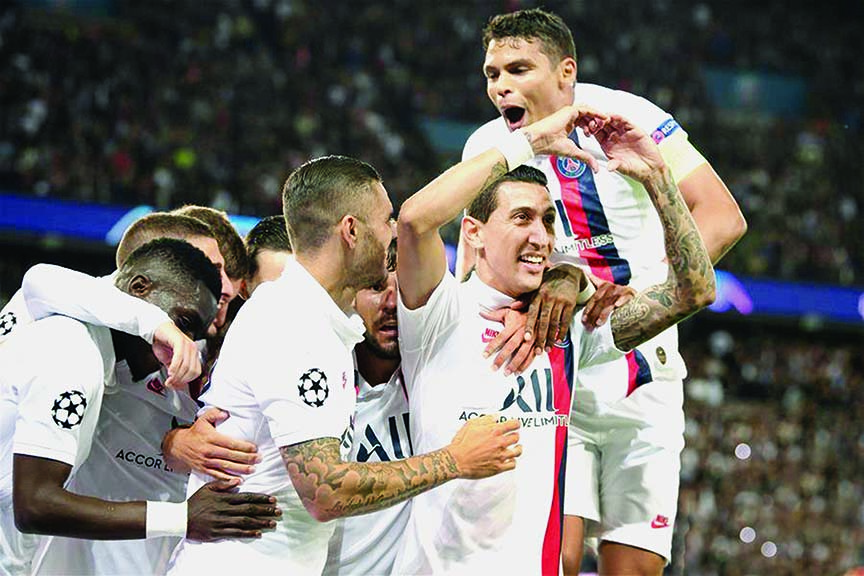 'Exceptional' Di Maria stars as PSG tear apart sorry Real Madrid