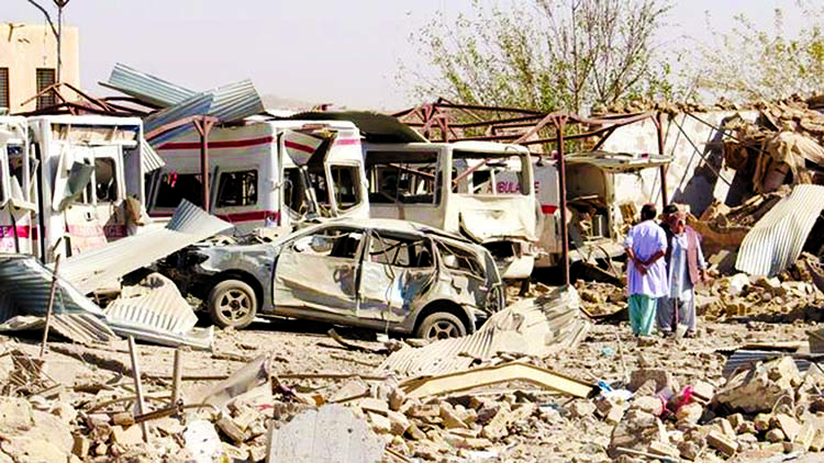 Deadly Taliban attack destroys hospital: 20 killed