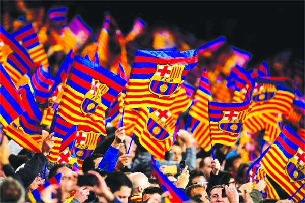 Barcelona predict billion euro income this season